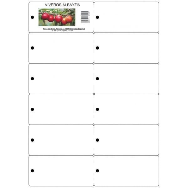 Etiquetas colgantes para imprimir