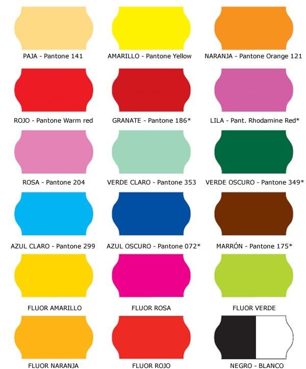 Carta colores imagui for Catalogo de pinturas de interior