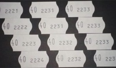 Etiquetas 2207 PA