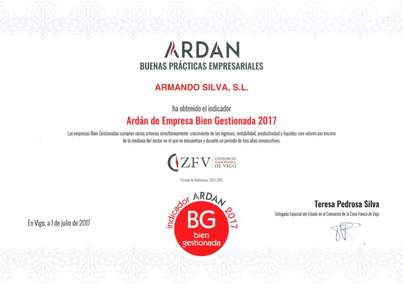 Ardan Buenas Practicas Empresariales 2017