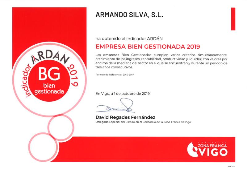 Ardan Buenas Practicas Empresariales 2019